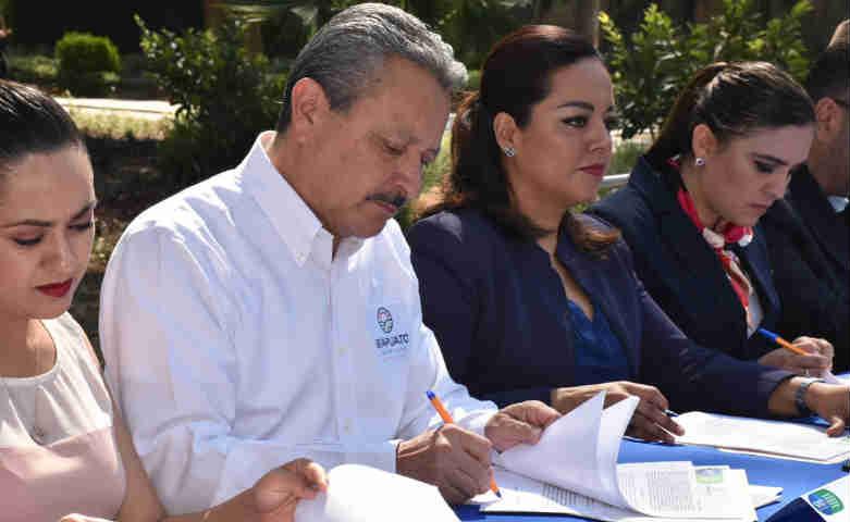 Firman Convenio en Irapuato para Protección Ambiental