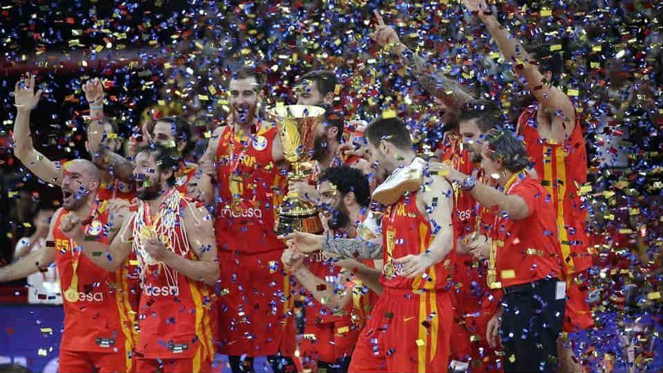 Se corona España en mundial de baloncesto