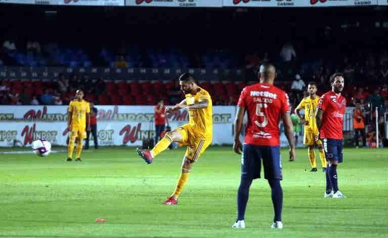 "Tiene Tigres triunfo ""gandalla"" ante Veracruz"