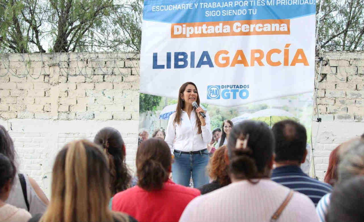 Seguiré cercana a la gente: Libia García
