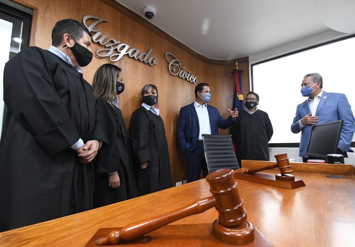 Inauguran juzgados cívicos en Irapuato