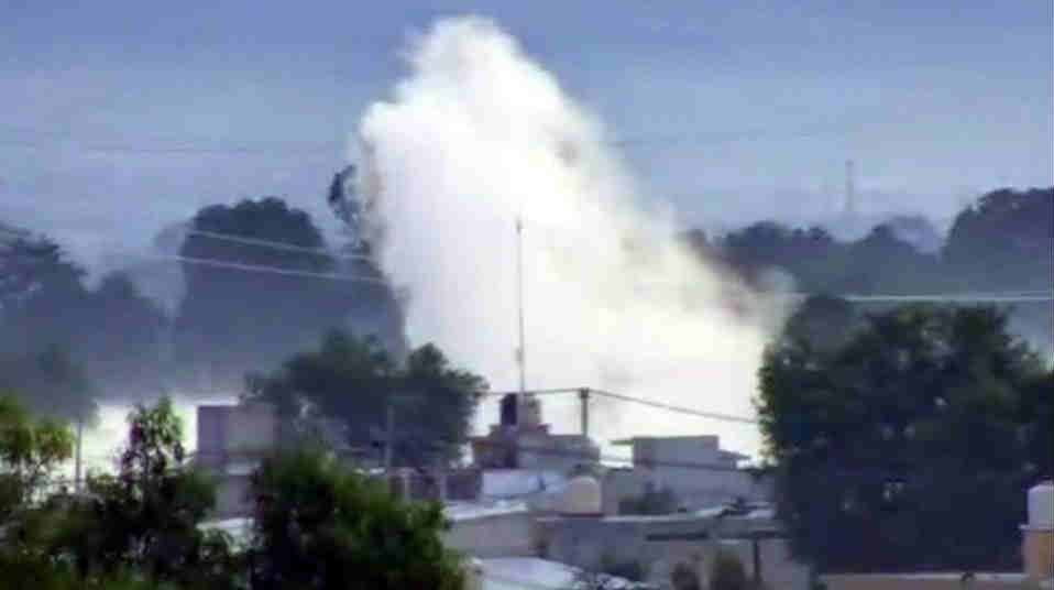 Evacuan a familias por fuga de gas