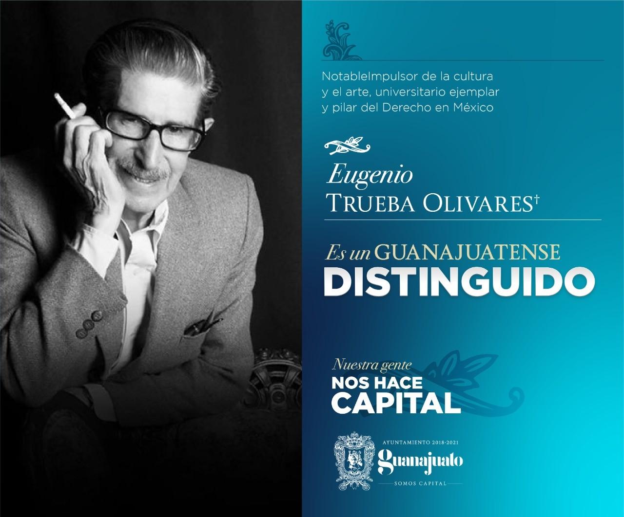 """Entregarán reconocimiento """"Guanajuatense Distinguido"""" en la Capital"""
