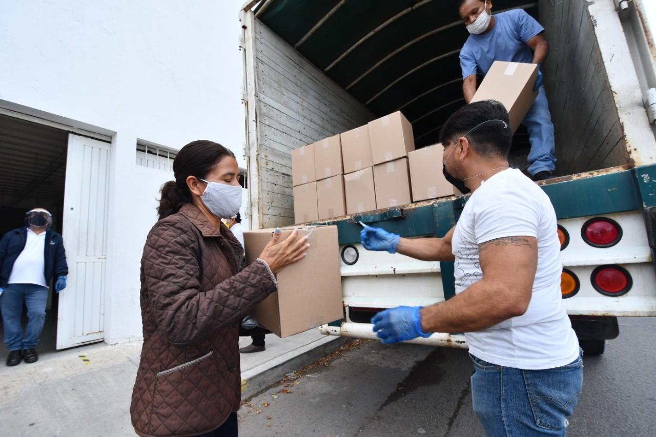 Recibe ciudadanía apoyo en Irapuato durante contingencia por Covid-19