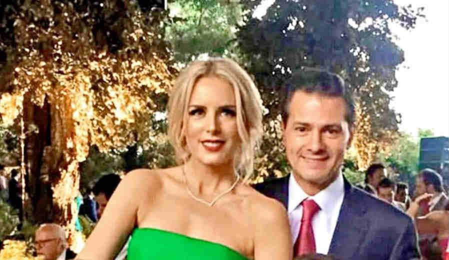 Presume Peña Nieto nuevo noviazgo